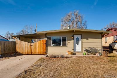 Denver Single Family Home Under Contract: 1895 South Zuni Street