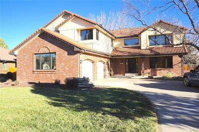 Arvada CO Single Family Home Under Contract: $659,900