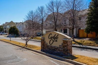 Highlands Ranch, Lone Tree Condo/Townhouse Under Contract: 1243 Carlyle Park Circle
