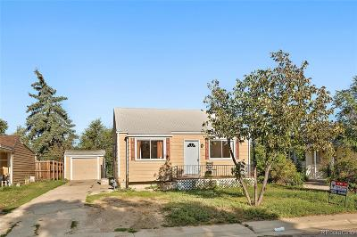 Denver Single Family Home Active: 135 South Decatur Street