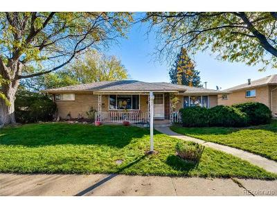 Denver Single Family Home Under Contract: 2686 South Lowell Boulevard