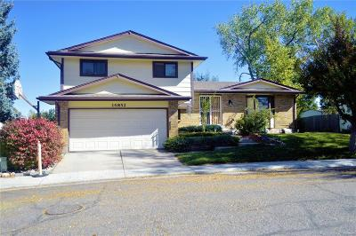 Aurora Single Family Home Active: 14852 East Kansas Place