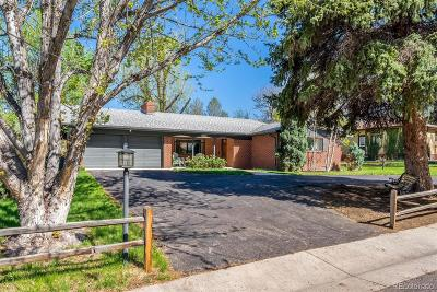 Littleton Single Family Home Under Contract: 6670 South Foresthill Street