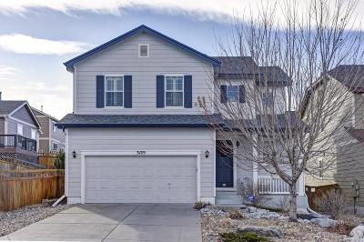 Castle Rock Single Family Home Active: 3129 Open Sky Way
