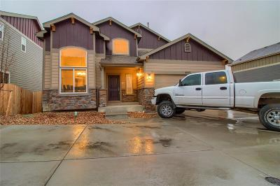 Commerce City Single Family Home Under Contract: 9777 Lima Circle