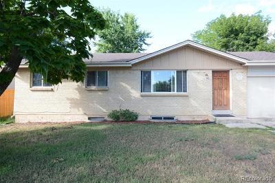 Colorado Springs Single Family Home Active: 2542 San Marcos Drive