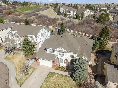 Castle Pines Single Family Home Active: 7815 Stonedale Drive