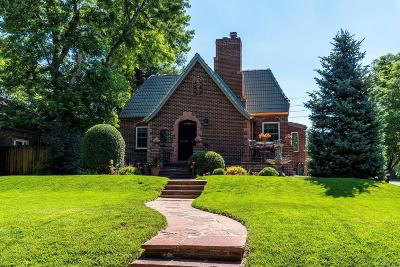 Denver Single Family Home Active: 1300 Monaco Parkway