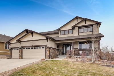 Castle Rock Single Family Home Under Contract: 2605 Red Hawk Ridge Drive
