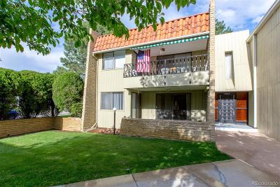 Denver Condo/Townhouse Under Contract: 5882 East Ithaca Place #105