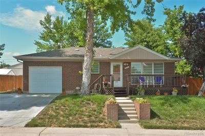 Northglenn Single Family Home Active: 201 Emery Road