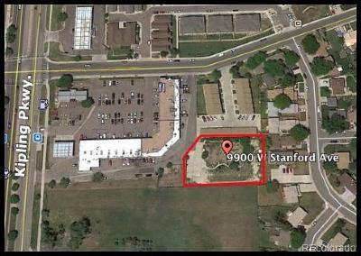 Denver Residential Lots & Land Active: 9900 West Stanford Avenue
