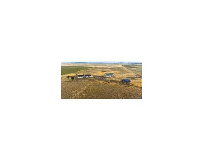 Elbert County Single Family Home Under Contract: 46122 County Road 53