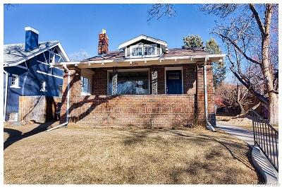 Denver Single Family Home Active: 1270 Niagara Street