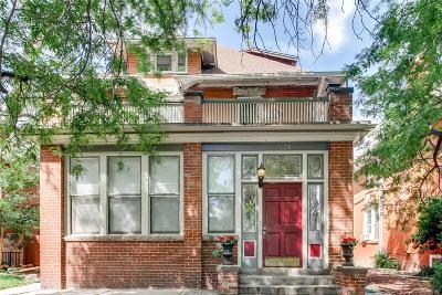 Cheeseman & Moffat, Cheeseman Park, Cheesman Park Condo/Townhouse Active: 1223 North Lafayette Street #6