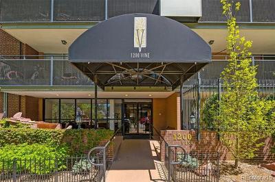 Denver Condo/Townhouse Active: 1200 Vine Street #3C