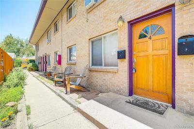 Baker, Baker/Santa Fe, Broadway Terrace, Byers, Santa Fe Arts District Condo/Townhouse Active: 165 West Cedar Avenue #4