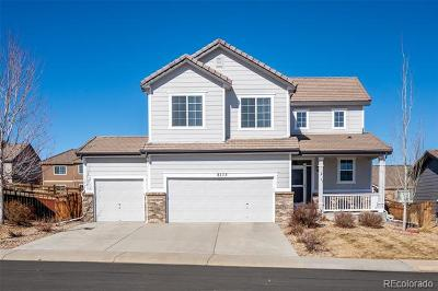 Castle Rock Single Family Home Active: 8173 El Jebel Loop