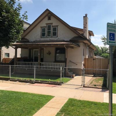 Denver Single Family Home Under Contract: 4050 Bryant Street