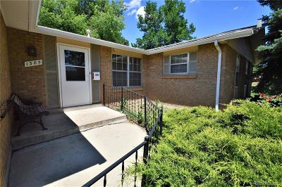 Broomfield Single Family Home Under Contract: 1385 Fresno Court