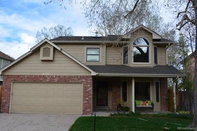 Littleton Single Family Home Under Contract: 6010 South Vivian Street