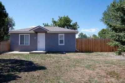 Denver Single Family Home Active: 2815 South Bryant Street