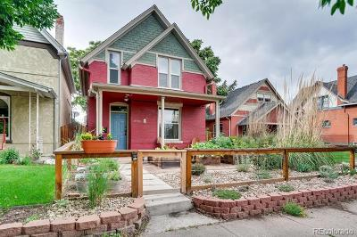 Denver Single Family Home Active: 2729 West 36th Avenue