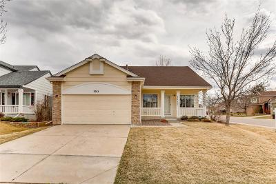 Highlands Ranch Single Family Home Under Contract: 3912 Garnet Court