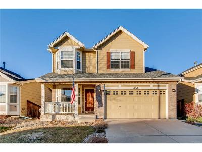 Highlands Ranch Single Family Home Active: 1267 Mulberry Lane