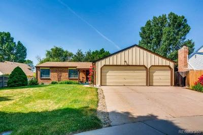 Littleton Single Family Home Under Contract: 10368 West Weaver Avenue