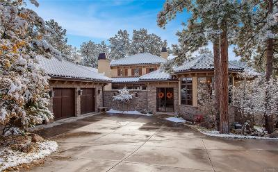 Castle Rock Single Family Home Under Contract: 972 Country Club Parkway