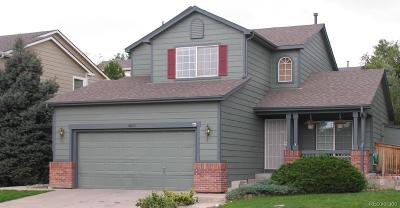Highlands Ranch Single Family Home Sold: 9823 Atherton Way