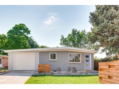 Denver Single Family Home Active: 1521 South Leyden Street