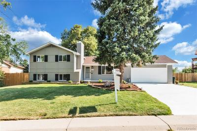 Northglenn Single Family Home Under Contract: 322 Melody Drive