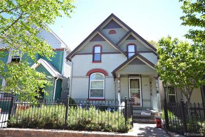 Denver Single Family Home Active: 452 Elati Street