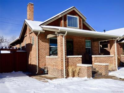 Denver Single Family Home Under Contract: 3209 North Gaylord Street
