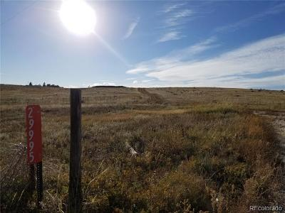 Kiowa Residential Lots & Land Active: 29995 Maul Road
