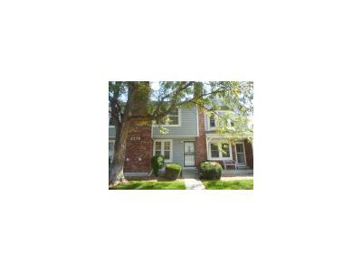 Thornton Condo/Townhouse Active: 4230 East 94th Avenue #D