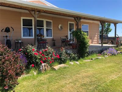 El Paso County Single Family Home Active: 25598 East Garrett Road