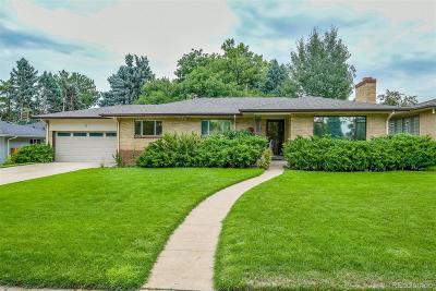 Denver Single Family Home Under Contract: 2960 South Monroe Street