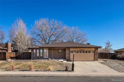 Longmont Single Family Home Under Contract: 2122 Squires Street