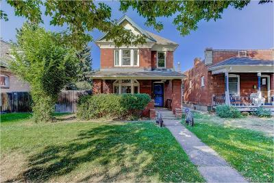 Denver Single Family Home Active: 3325 Osceola Street