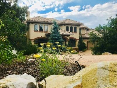 Castle Rock Single Family Home Active: 145 Capulin Place