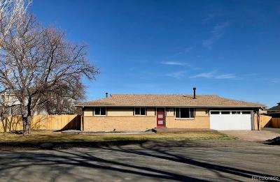Golden Single Family Home Under Contract: 5374 Kendrick Court