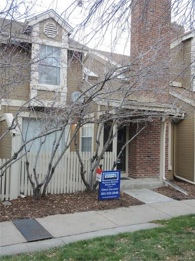 Aurora Condo/Townhouse Active: 4332 South Billings Circle