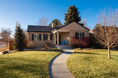 Denver Single Family Home Active: 3005 Dexter Street