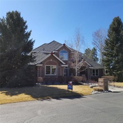 Littleton Single Family Home Under Contract: 4994 Christensen Drive