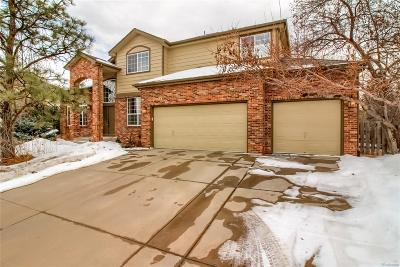 Castle Pines Single Family Home Under Contract: 7031 Turweston Lane