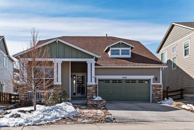 Castle Rock Single Family Home Active: 4274 Abstract Street