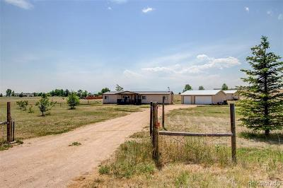 Peyton Single Family Home Active: 13455 Cottontail Drive